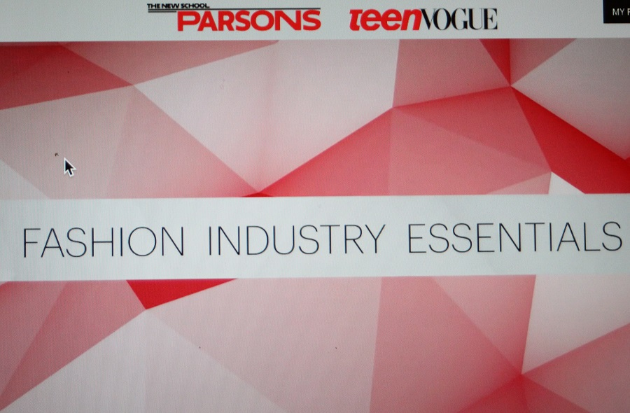 Online Course from The Parsons School of Design in Partnership with Teen Vogue.